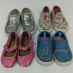 TOMS Carters Cat & Jack Lot Toddler Size 5 Shoes
